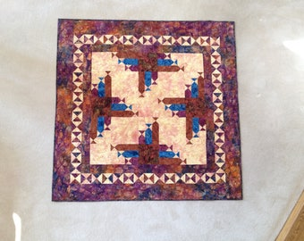 Homemade Patchwork Lap Quilt