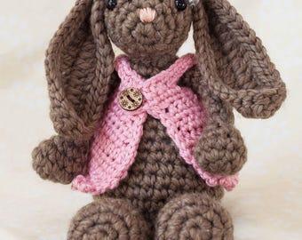 Crocheted bunny, Crocheted rabbit, amigurumi bunny, amigurumi crochet, stuffed animal, stuffed bunny, easter bunny