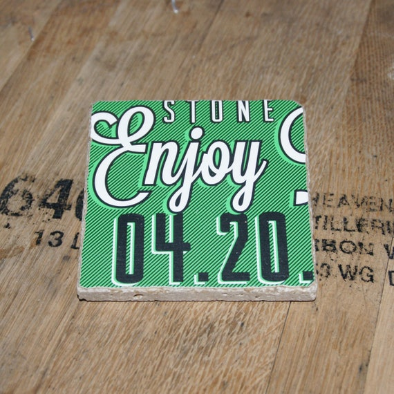 UPcycled Coaster - Stone Brewing Co. - Enjoy By 04.20 IPA