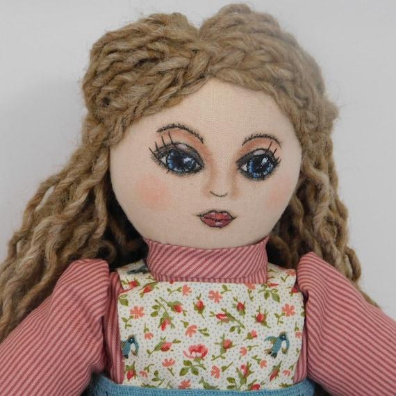 Rag Doll Cloth Doll Fabric Doll Dolls Gift For Girls