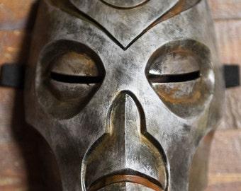 Skyrim Inspired Morokei Konahrik Dragon Priest Mask Cosplay wearable Halloween costume The Elder Scrolls V Fan Art
