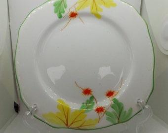 Vintage China plate - Royal Stafford Bone China Art Deco tea plate.