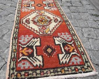 oushak rug small . gift for home, doormat rug, small Oushak rug , SR32