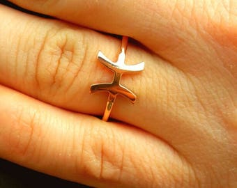 Pisces Ring-Zodiac Ring-Horoscope Ring-Astrology Sign-Zodiac Jewelry-925K Silver Handmade Zodiac Pisces Ring