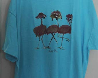 SALE Flamingo Ladies/Beach Birds/Cute/Funny/SIZE 2XL T-Shirt