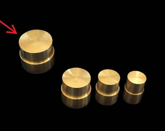 """EXTRA LARGE Direct Replacement Brass Pushrod Plunger for Extruding """"Swedish-Wrapped"""" Coin Rings"""