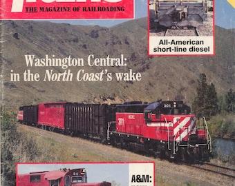 TRAINS NOVEMBER 1987 The Magazine of Railroading, Train Railroad Railroads Magazine!