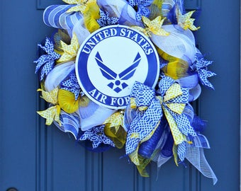 Air force decoration etsy for Air force decoration
