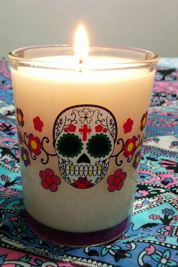 12oz Dia de los Muertos Soy Candle. Scented or Unscented ...