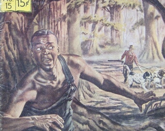 Uncle Tom's Cabin by Harriet Beecher Stowe - 1965 Classics Illustrated No. 15