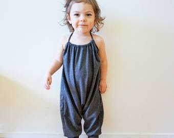 Romper, Baby Girl Romper, Baby Romper, Jumpsuit, Toddler Girl Clothes, Baby Girl, Summer, Summer Romper, Backless, Ari Romper