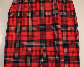 Pendleton Wool Skirt
