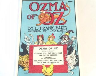 Vintage Ozma of Oz Book by L. Frank Baum