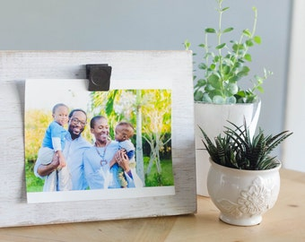 Wood Picture Frame, Rustic Photo Frame, Rustic Photo Display, Wood Photo Frame, Handmade Wood Frame, Photo Display, Photo Frame