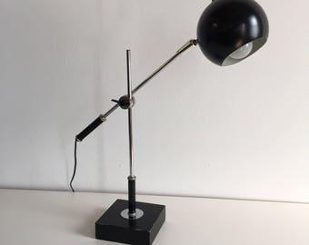 Positionable Eyeball Lamp Space age Orb Lamp Robert Sonneman