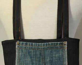 Denim purse / Sacoche en jeans