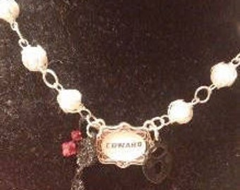 Twilight Edward Pearl Necklace