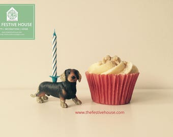 Dachshund Candle Holder, Dachshund Cake Topper, Dog Candle Holders, Dog Cake Topper, Cake Candles