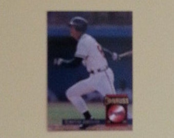 Chipper Jones, 1994 Donruss, Baseball Card # 453, Listed As Shortstop, Atlanta Braves, MLB Cards, M/NM with Slight Edge Rub, MLB Collectible