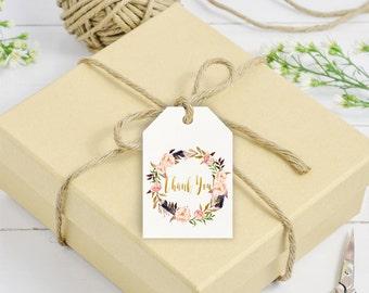 Boho Favor Tags, Boho Thank you tags, Printable favor tag, Baby shower thanks, Baby shower party decor, Boho  favor tags, Bo-Ho