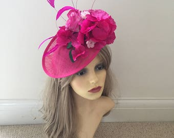 Wedding | Races | Special Occasion Hat/Fascinator/Hatinator | Handmade | Any Colour