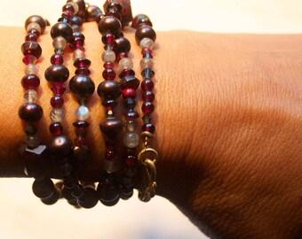 """Precious stone chain """"longo"""""""