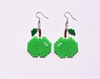"""Collection Gourmande"" Apple earrings"