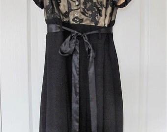 Vintage DressBarn Maxi dress