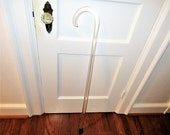 Vintage Lucite Walking Cane, Walking Stick, Clear Lucite, Mid Century Modern