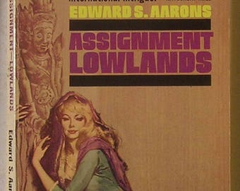 ASSIGNMENT LOWLANDS: International Suspense & Intrigue - Sam Durell CIA Detective Series - Noir Pulp Fiction / Hard-Boiled