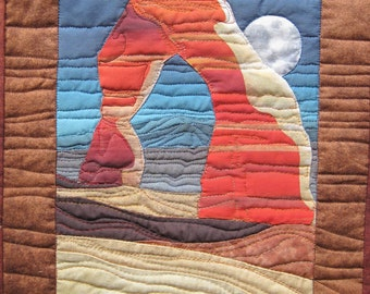Delicate Arch Finished Quilt
