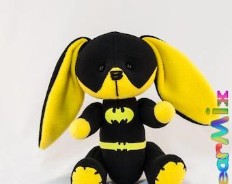 Batgirl bunny - dc superhero movie comic plush toy batman Barbara Gordon