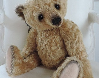 Thomas, OOAK Mohair Artist Bear, Aleta Breese