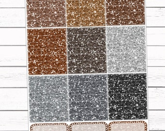 Neutral Glitter Headers {58}
