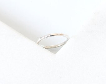 Faceted Ring • Recycled Silver