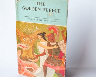 Vintage Upcycled Notebook - The Golden Fleece - Personalised Present - Handmade Journal
