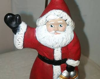 Victorian Santa Ornament Waving