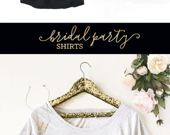 Bride To Be Shirt Gold Foil Bride Shirt New Bride Shirt Engagement Gift for Bride Gift Ideas Newly Engaged Gift (EB3202WRBP) Loose Fit