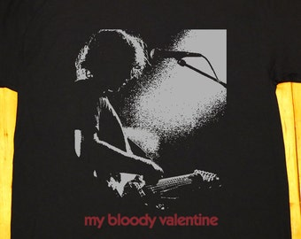 My bloody valentine, MBV, K. Shields, shoegaze, dream pop, noise pop, Slowdive, Ride - screen printed T-shirt