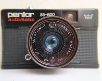 Pentor Automatic 35-600 - compact 35mm viewfinder camera