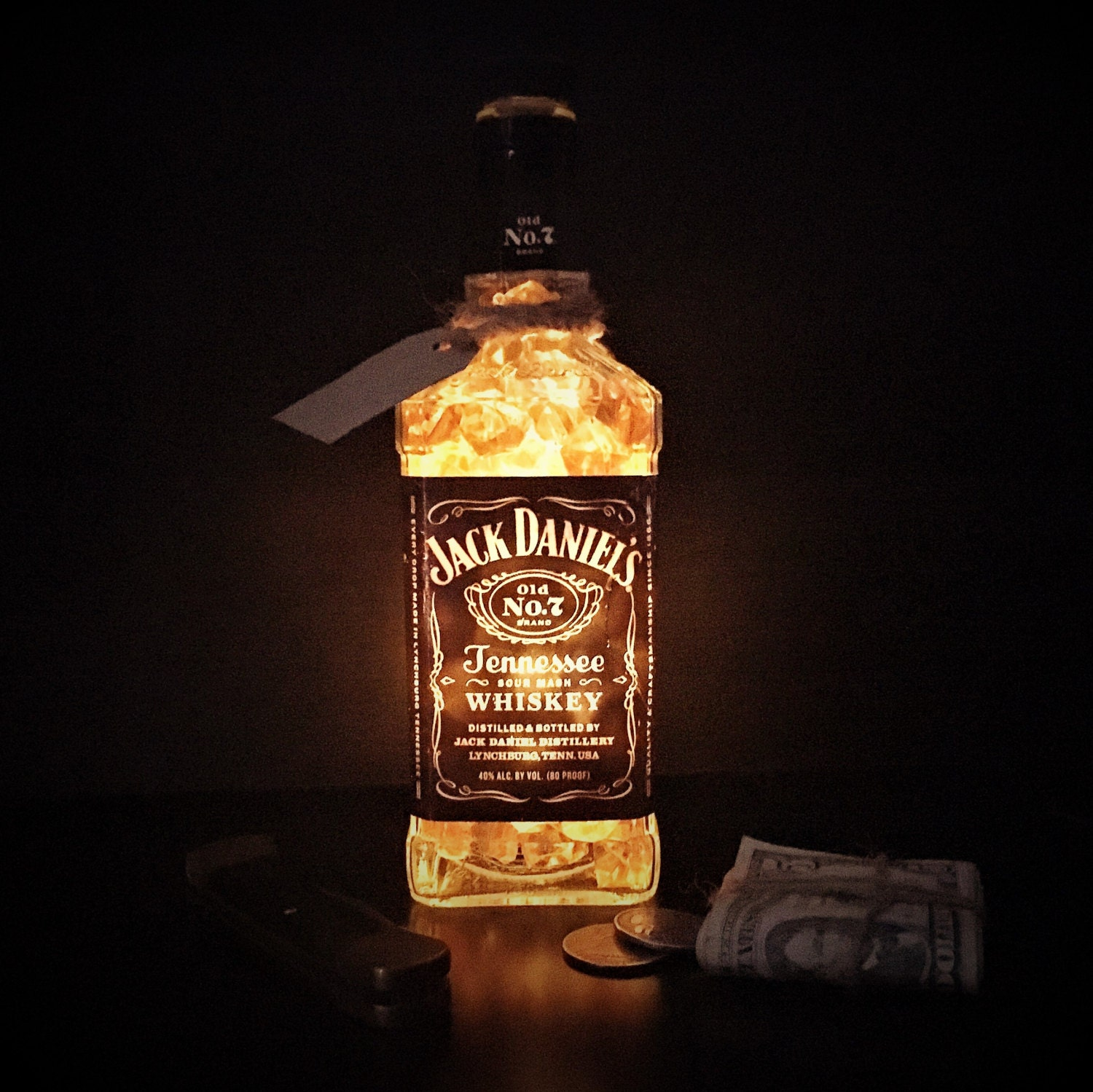 ?zoom & Man Cave Decoration Jack Daniels Table Light Glowing Table azcodes.com