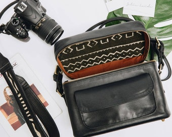 The TRAVEL SET | Weekender Camera Bag and Camera Strap, Camera Bag for Women, Camera Bag Toronto, Camera Bag DSLR, Travel Bag