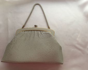 Vintage 1970s genuine Australian Iconic Brand Oroton mesh purse evening bag clutch handbag