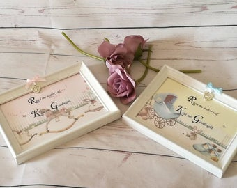 Read me a story, nursery decor, New baby gift, christening gift, picture frame