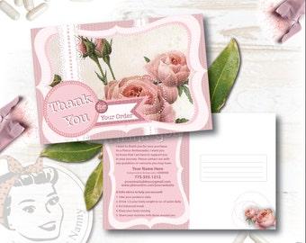 Plexus Shabby Nanny Thank you Postcard - Free Shipping