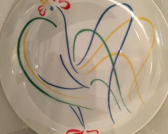Fitz and Floyd Chanticleer Plate