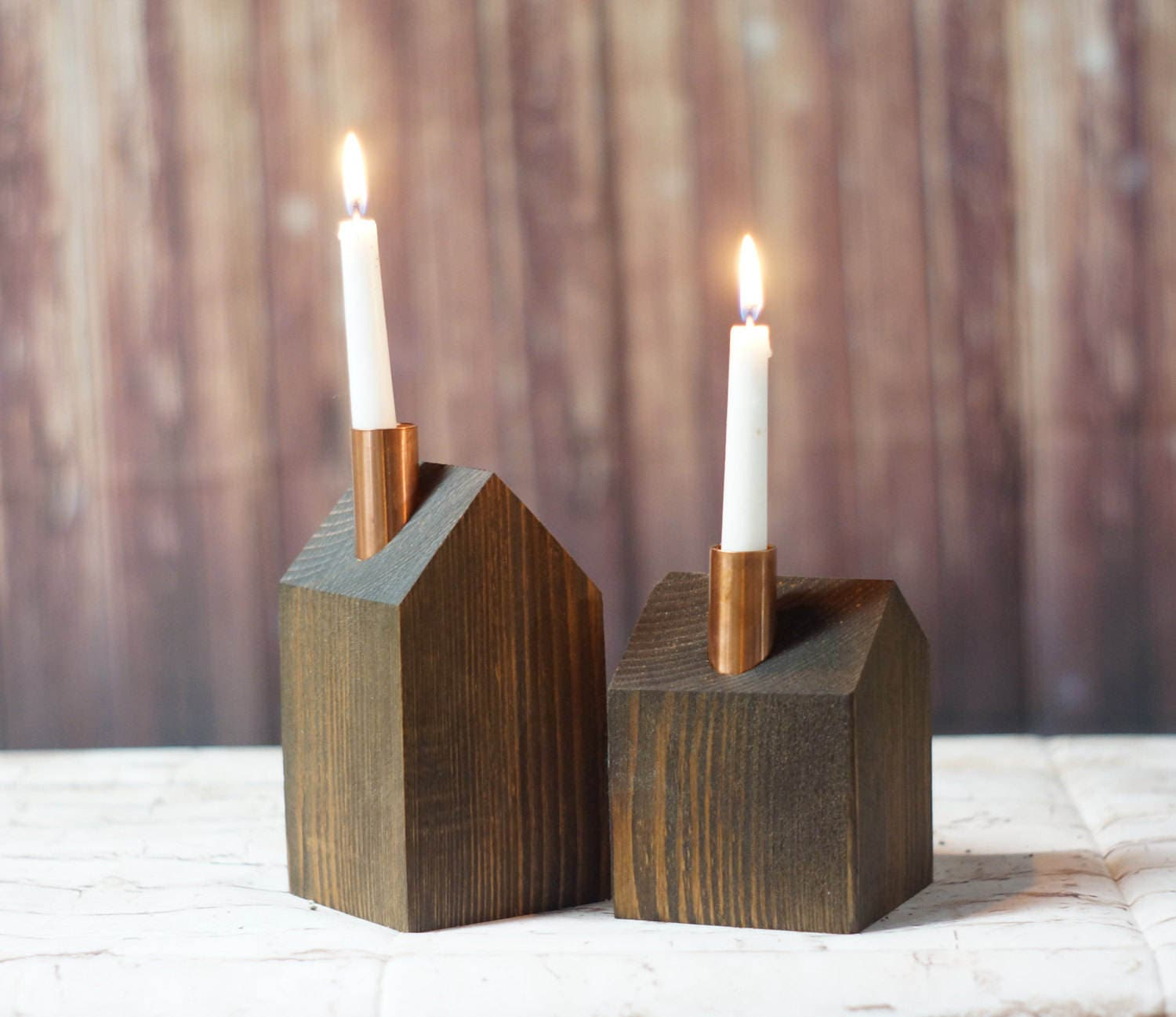 reclaimed wood candle holder reclaimed wood candle holder home