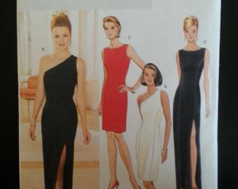 Butterick 4343 Fast & Easy - Misse's/petite dress sewing pattern - Size U.S. 6-12