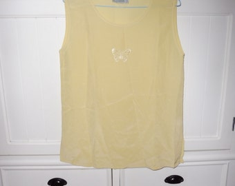 SERGIO CASSANI silk top size 38 FR - 1970s