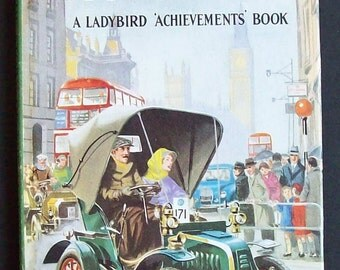 Vintage Ladybird 'Achievement Book' The Story Of The Motor Car